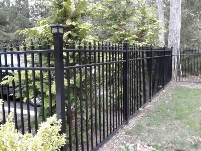 Aluminum Fences Amp Fence Gates Liberty Fence Amp Railing