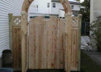 Wood Fences Gates Arbors Liberty Fence Railing