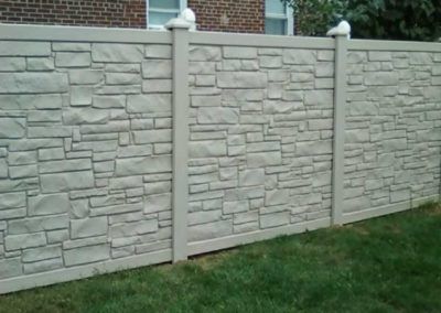 Vinyl Stone Fences Amp Gates Liberty Fence Amp Railing