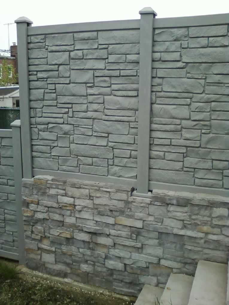 Vinyl Stone Fences Amp Gates Liberty Fence Amp Railing