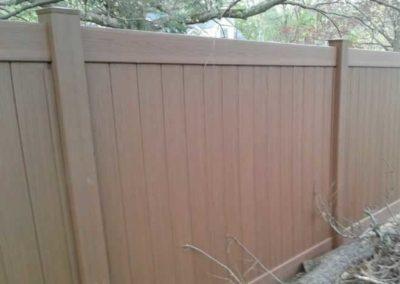 Embossed Woodgrain Vinyl Fences Amp Gates Liberty Fence