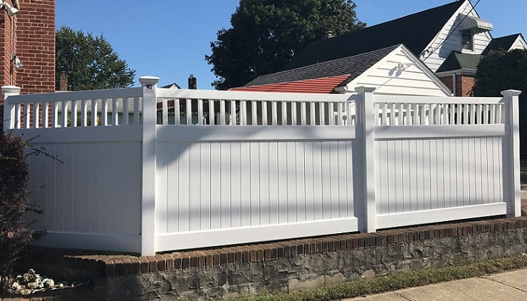 Pvc Fences Amp Gates Double Virgin Vinyl Fencing Liberty