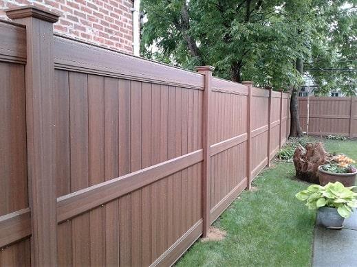 Wood Grain Vinyl Fences Gates